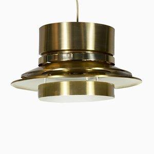 Lámpara colgante sueca de latón de Carl Thore para Granhaga Metallindustri, años 60