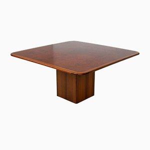 Tavolo Artona quadrato di Tobia & Afra Scarpa per Maxalto, anni '80