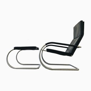 D35 Cantilever Lounge Chair & Ottoman by Anton Lorenz for Tecta, 2000s