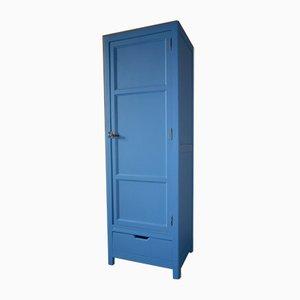 Mid-Century Parisian Blue Cabinet