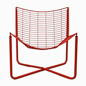 Vintage Jarpen Wire Lounge Chair by Niels Gammelgaard for Ikea, 1980s