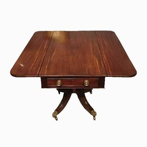 Antique Regency Cuban Mahogany Pembroke Table
