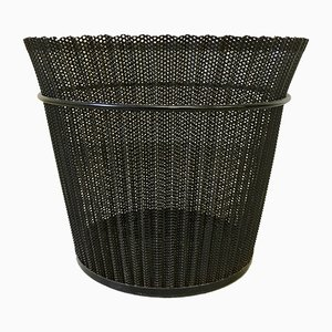 Metal Waste Paper Basket by Mathieu Matégot for Artimeta, 1950s