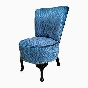 Chaise d'Appoint Mid-Century Bleue de Sherborne, 1950s