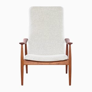 Mid-Century Model 138 Armchair by Finn Juhl for France & Søn, 1960s