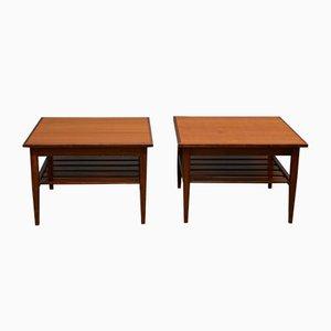 Tables d'Appoint Vintage de G-Plan, 1970s, Set de 2