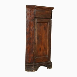 Round Antique Italian Cupboard