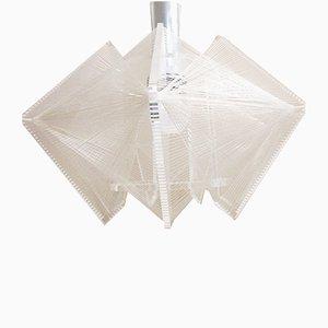 Lámpara Mid-Century de vidrio acrílico de Paul Secon para Sompex, años 60