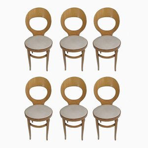 Model Mouette Bistro Chairs from Baumann, 1982, Set of 6