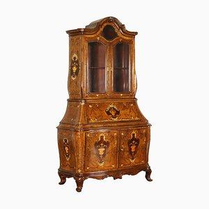 Antique Italian Rosewood Serpentine Secretaire
