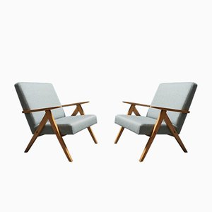 B-310 Bentwood Armchairs from Radomsko 1960s, Set of 2