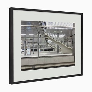 Black Oak Framed Silent Cities # 2 Photograph by Guy Russell for QGallery, 2019