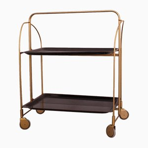 Mid-Century Folding Bar Cart, 1960s