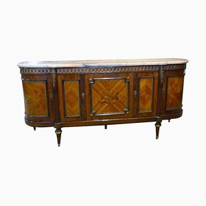 Louis XVI Style Rosewood & Marquetry Sideboard from JP Ehalt, 1940s