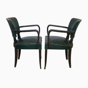 Vintage Armchairs, 1930s, Set of 2