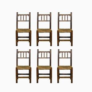 Chaises de Salle à Manger Vintage, 1970s, Set de 6