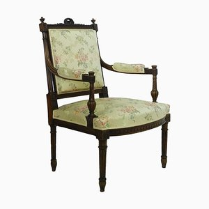Antique Open Armchair, 1890s