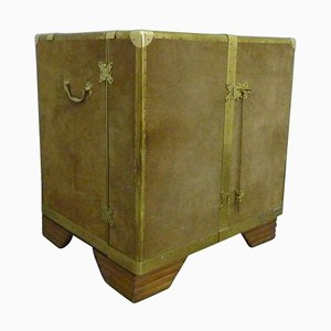 Antique Brass Cupboard, 1930s