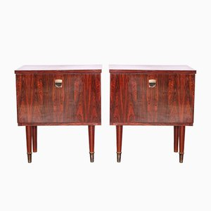 Mid-Century Cabinets, 1970s, Set of 2