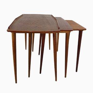 Nesting Tables by Arne Hovmand-Olsen for Mogens Kold, 1950s