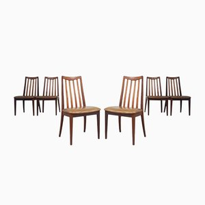 Mid-Century Esszimmerstühle aus Teak von G-Plan, 1970er, 6er Set