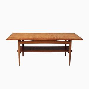 Table Basse Mid-Century en Teck, 1970s