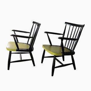 Mid-Century Armlehnstühle, 1950er, 2er Set