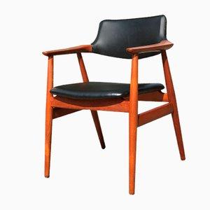 Mid-Century Armlehnstuhl von Erik Kirkegaard für Høng Stolefabrik, 1950er