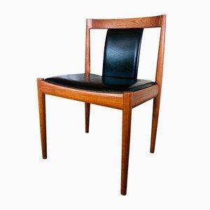 Sedia da scrivania Mid-Century in teak e palissandro di Robert Heritage per Archie Shine, anni '60