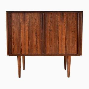 Mid-Century Danish Rosewood Tambour Door Cabinet by Kai Kristiansen for FM Møbler, 1960s