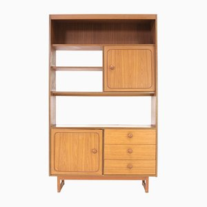Vintage Teak Stateroom Shelving Unit from Stonehill, 1970s