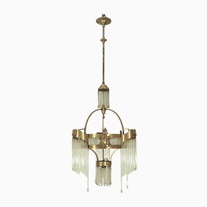 Large Antique Secession Chandelier