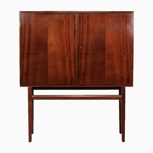 Mahogany Rungstedlund Sideboard by Ole Wanscher for Poul Jeppesens Møbelfabrik, 1970s