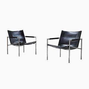 Vintage Sessel von Martin Visser für Spectrum, 1960er, 2er Set