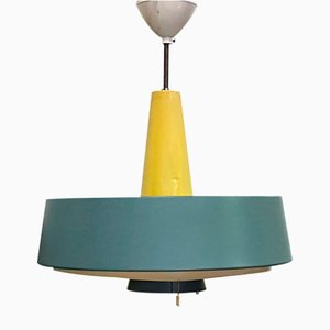 Model NT 72E/100 Dutch Ceiling Lamp from Philips, 1960s