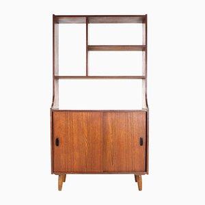 Vintage Raumteiler/Bücherregal aus Teak, 1970er