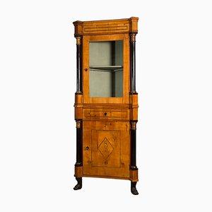 Mueble esquinero Biedermeier antiguo