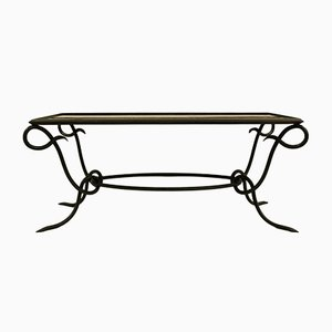 Wrought Iron Coffee Table, 1940s