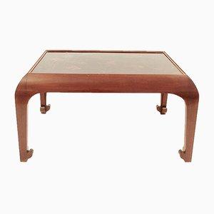 Table Basse Vintage en Bois Peint