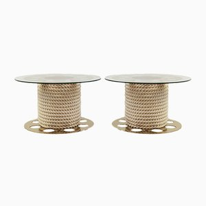 Small Vintage Tables from Paco Rabanne, Set of 2