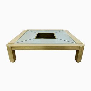 Table Basse en Résine par Alain Delon pour Maison Jansen, 1970s