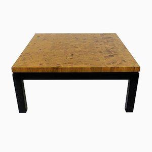 Mesa de centro vintage de madera, años 70