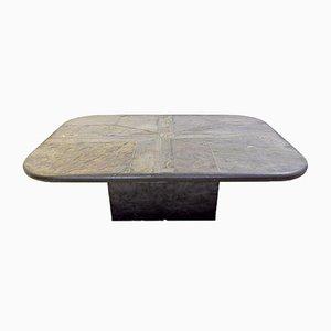 Table Basse Schiste Vintage