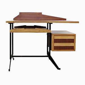 Kleiner italienischer Vintage Schreibtisch mit Schubladen