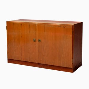 Model 232 Teak Cabinet by Børge Mogensen for C.M. Madsen, 1950s