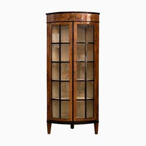 Vintage Empire Style Corner Cabinet, 1920s