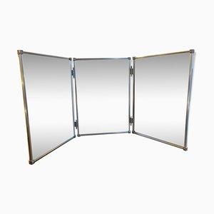 Vintage Triptychon Spiegel, 1960er
