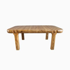 Modernist Danish Pine Coffee Table from V&S Kvalitet Møbler, 1970s