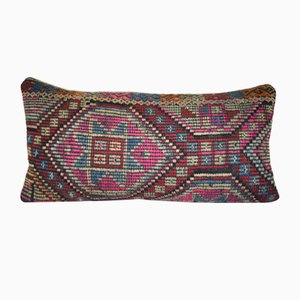 Funda para almohada hecha con Cicim kilim turca anatolia de Vintage Pillow Store Contemporary
