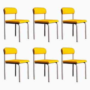 Greek Dining Chairs by Ettore Sottsass for Bieffeplast, 1980s, Set of 6